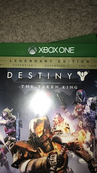 Xbox one destiny game case Shelby Township, 48316
