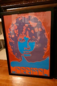 Jim Morrison will art