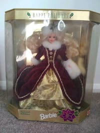 Special edition Holiday Barbie Frederick