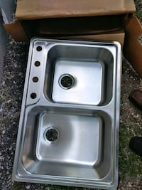 stainless steel sink with faucet San Antonio, 78207