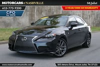 Lexus IS 350 2016