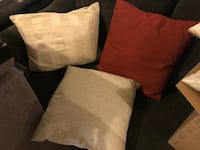 two black and one brown throw pillows Frederick, 21703