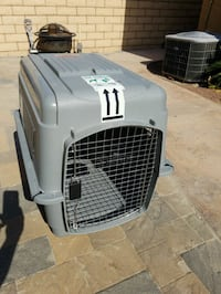 gray and black pet carrier Indio, 92203
