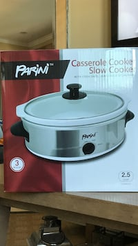 2.5 quart gray stainless steel Parini casserole cooker slow cooker Huntington Beach, 90742