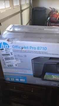 black HP OfficeJet Pro 8710 printer box Birmingham, 35207