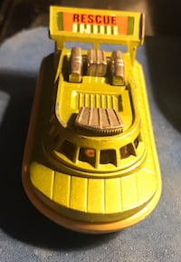 Vintage MatchBox Lesney 1972 Superfast Hovercraft No.72 Green