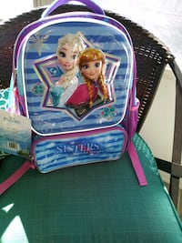 """New w/ tags FROZEN """"Sisters are magic"""" backpack San Lorenzo, 94580"""
