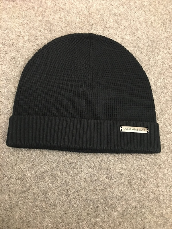 Used black Dolce Gabbana knit cap for sale in London - letgo e3aa44d3a68