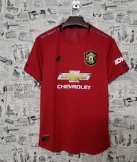 Soccer jersey manchester united