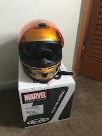 HJC Marvel Iron Man Motorcycle Helmet Size Small  Arlington, 22204
