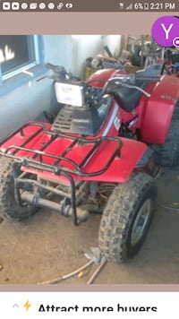 Honda trx 200 ...has a minor wiring issue Atwater, 95301