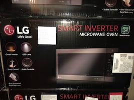 New LG Microwave Oven (60% OFF)