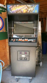 ASTEROIDS DELUXE MACHINE 350 FIRM AS IS, WORKS Spotswood, 08884
