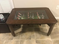 New Rectangular brown wooden foosball / coffee table Leesburg, 20175