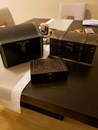 Decorative wooden chests and box  Largo, 33773