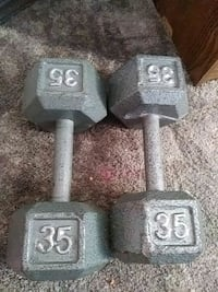 35 pound weights Oklahoma City, 73112