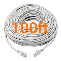 100ft cat6 ethernet network cable. New 2244 mi