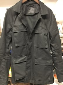 Wings+horns men's black jacket sz L