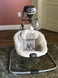 baby's white and gray cradle n swing TAMPA