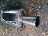 Aftermarket muffler off 98 civic Stockton, 95207