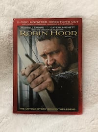 """Robin Hood"" DVD, 2010, 2 Disc Set, Widescreen"