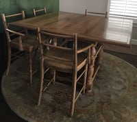 Square table with four chairs dining set Houston, 77080