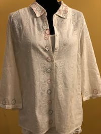 Handmade embroidered shirt Ashburn, 20147