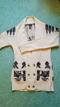 Long Sweater Size Medium White Rock, V4B 3E4