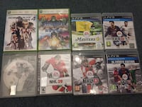 Ps3 and Xbox 360 games Markham, L3T 5G8