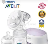 Single electric Avent breast pump + accessories Burnaby, V5C 5B8