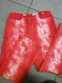 Cotton woman pants size 42 stretch