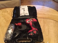 red and black Skil cordless hand drill Newmarket, L3Y 2X1