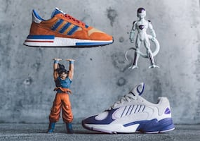 Goku and Frieza Adidas Brand New with boxs size 12