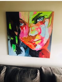 Bright Large Art Painting 100cm x 100cm  Toronto, M2N 6W3