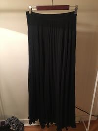 Black pleated floor length skirt Vancouver, V6E 1X6