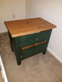 2 drawer nightstand can paint any color you want solid wood light Columbia, 21045