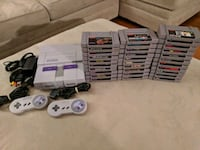 white Nintendo SNES console w controller and games Sykesville, 21784