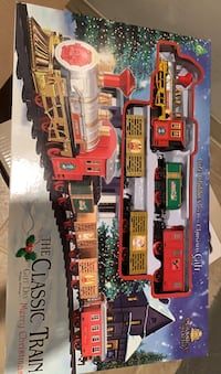 Classic Christmas train