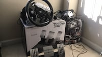 T300 GT edition wheel and pedals + TH8A gear shifter  Fairfax, 22030