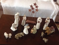 Nativity caricatures - Willow Tree collection 3495 km