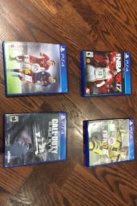 PS4 games all included