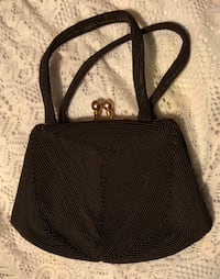 Vintage brown fabric coin purse handbag Springfield, 22151