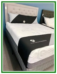 Mattress Queen Set & Box Spring Foundation - Brand New - In Plastic Warrenton
