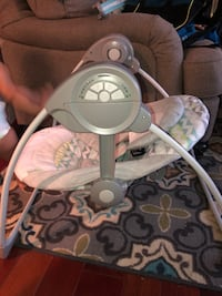 Barely Used Baby Swing - Battery Operated