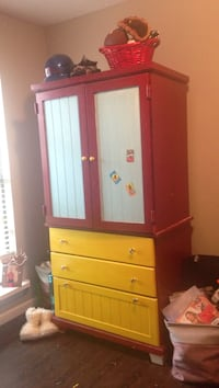 Brown wooden cabinet with drawer Panama City, 32405