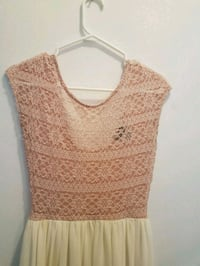 women's brown knitted sleeveless top Laval, H7T 2Z4