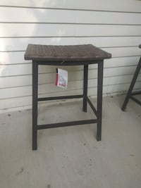 4 New Counter Height Patio Stools