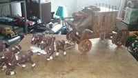 Vintage hand made western coach, with horses  Elizabeth, 07208