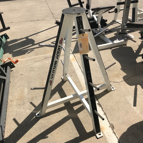 Body Masters plate rack weight tree