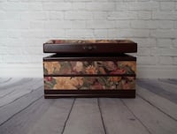 brown wooden 3-drawer chest Toronto, M6S 3N4